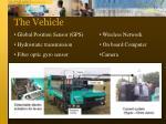 the vehicle