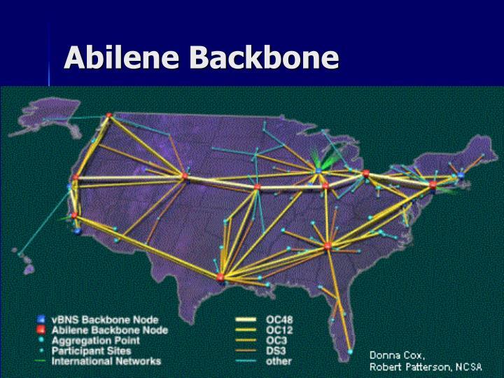 Abilene backbone