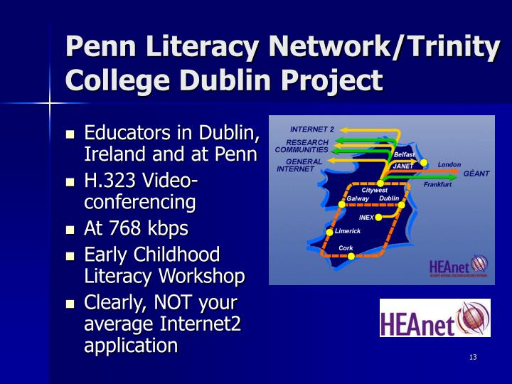 Penn Literacy Network/Trinity College Dublin Project