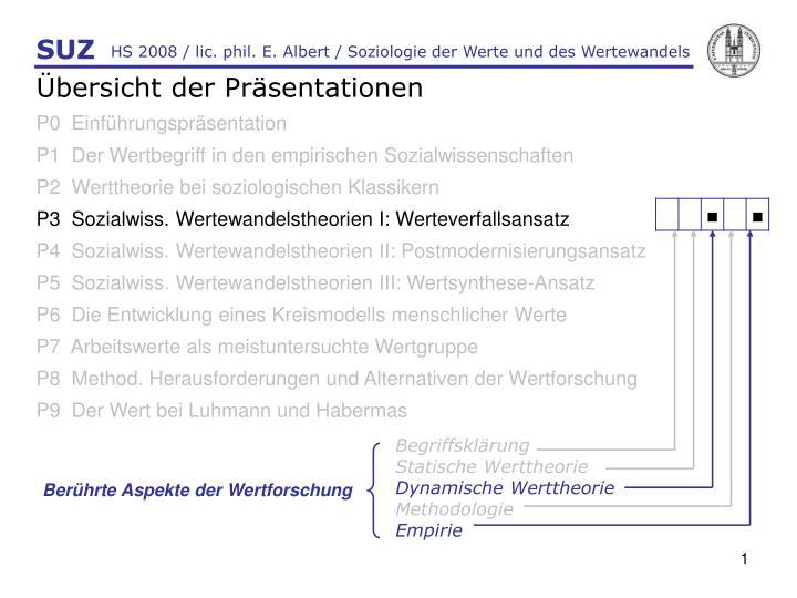hs 2008 lic phil e albert soziologie der werte und des wertewandels n.