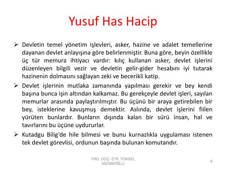 Yusuf Has Hacip