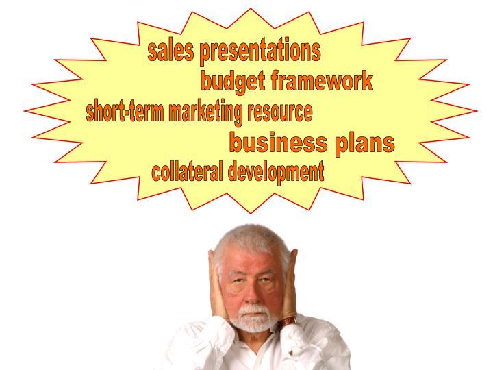 sales presentations