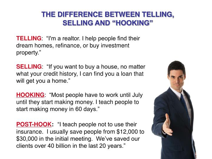 THE DIFFERENCE BETWEEN TELLING,