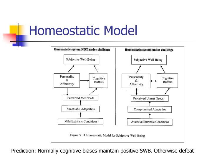 Homeostatic Model