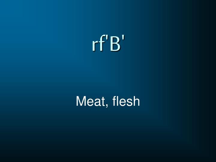rf'B'