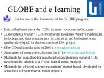 globe and e learning
