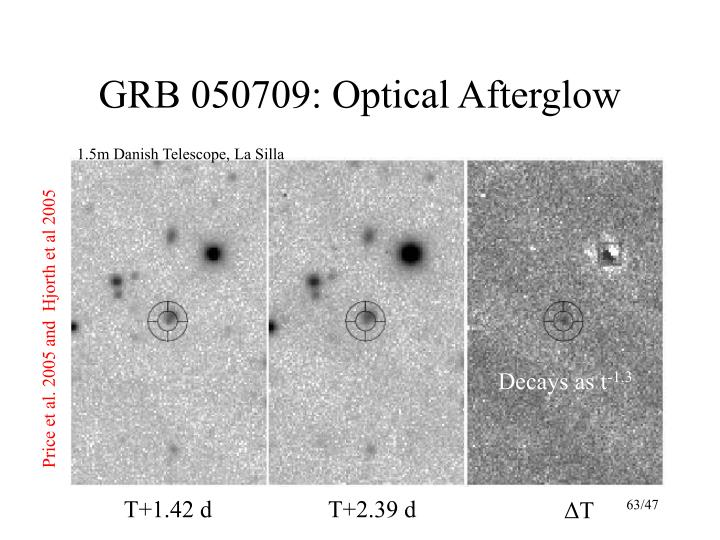 GRB 050709: Optical Afterglow