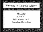welcome to 8th grade science1
