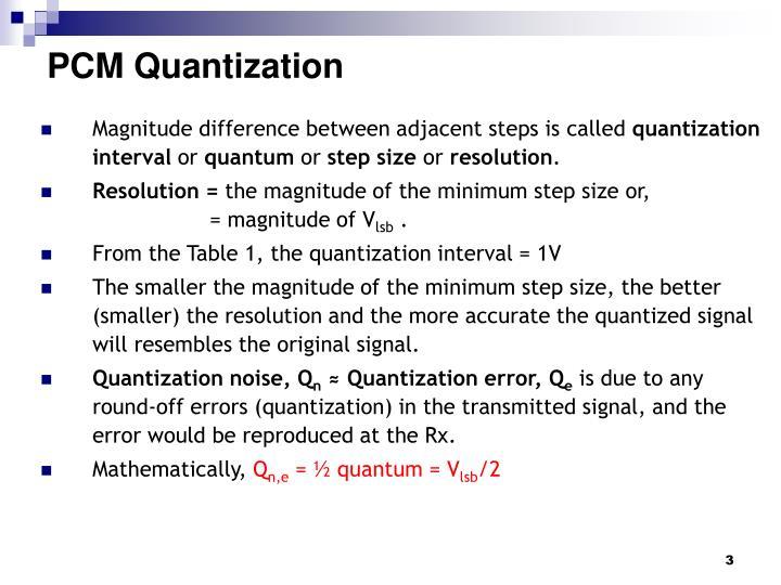 Pcm quantization1