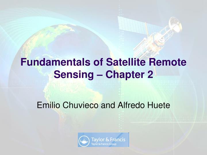 fundamentals of satellite remote sensing chapter 2 n.