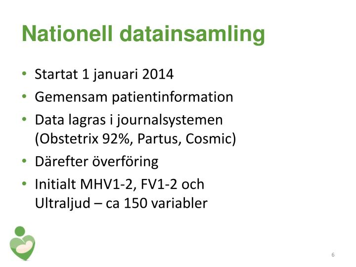 Nationell datainsamling