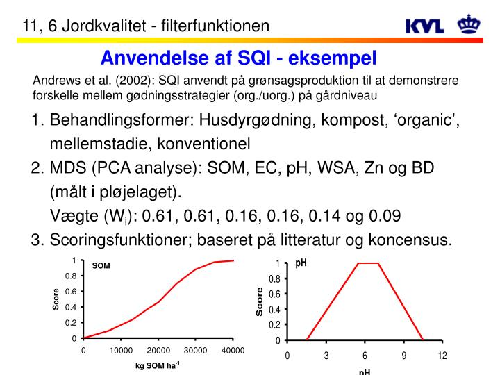 Anvendelse af SQI - eksempel