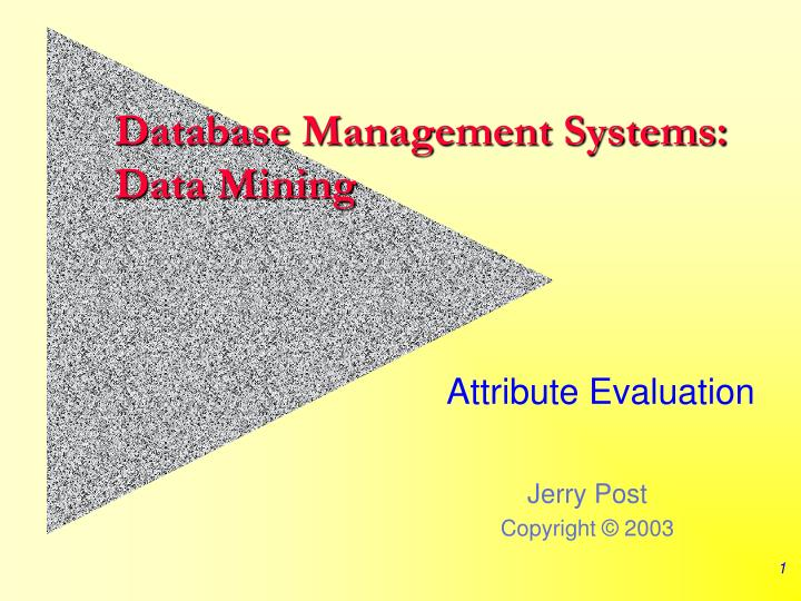 database management systems data mining n.