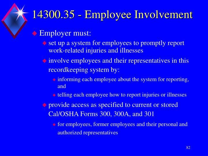 14300.35 - Employee Involvement