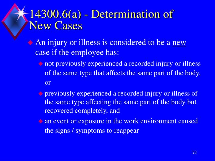 14300.6(a) - Determination of