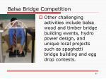 balsa bridge competition