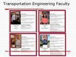 transportation engineering faculty