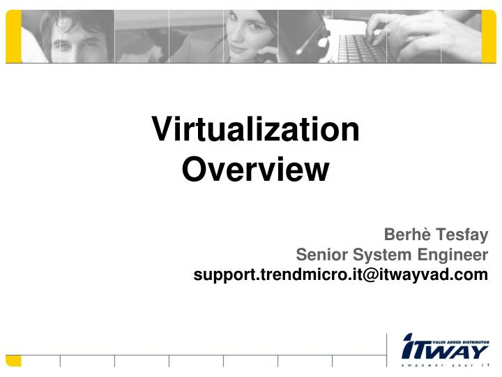 virtualization overview n.