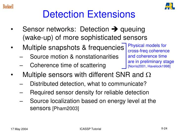 Detection Extensions