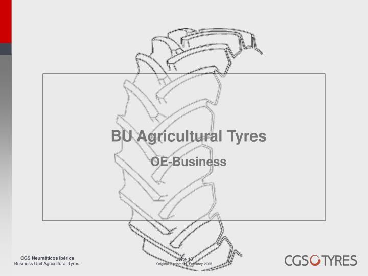 BU Agricultural Tyres