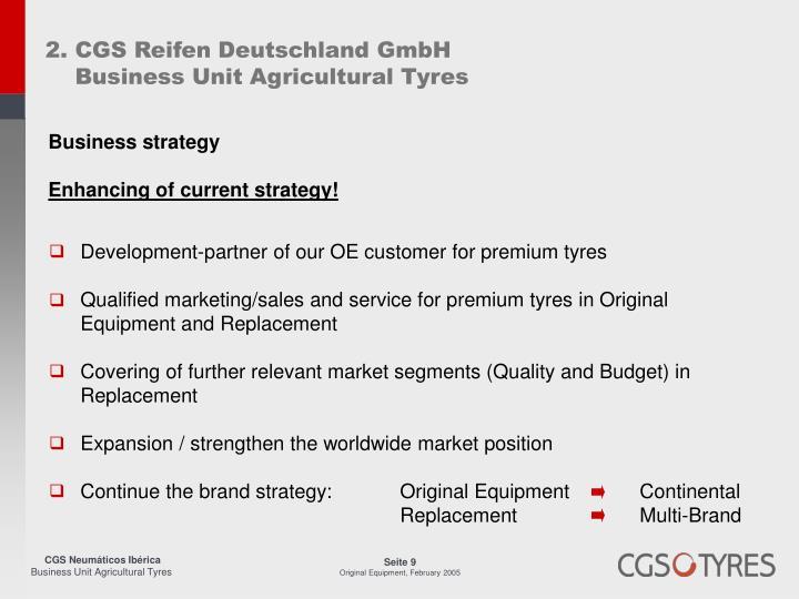 2. CGS Reifen Deutschland GmbH