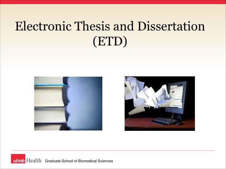 published thesis and dissertations