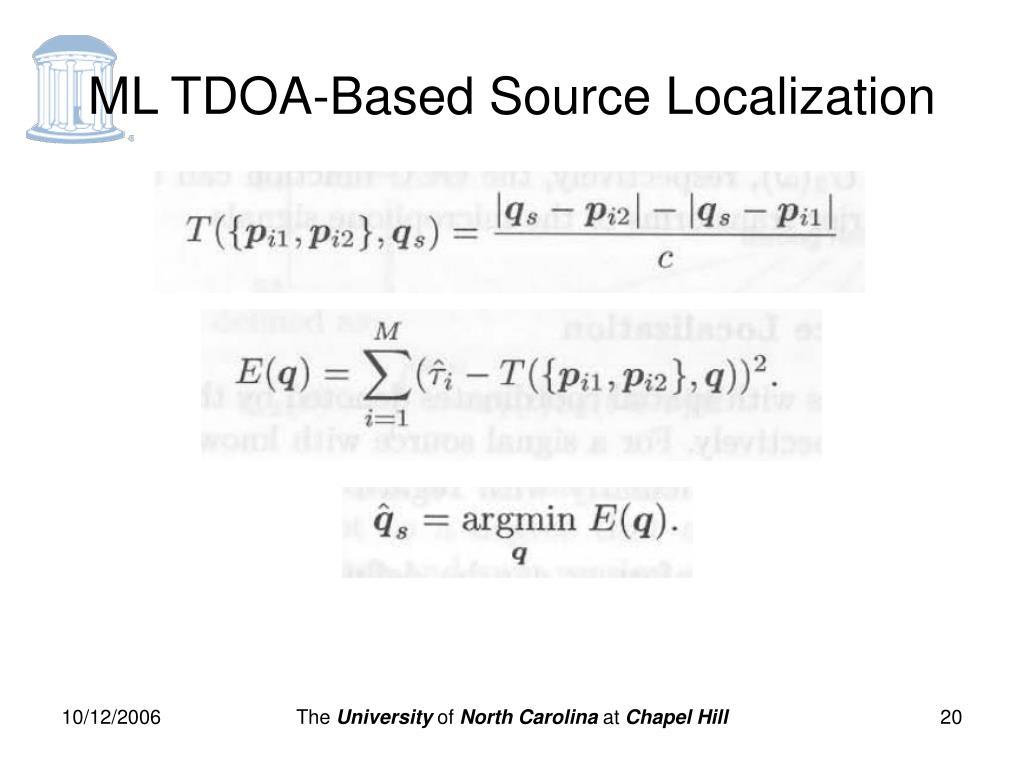 Tdoa Localization