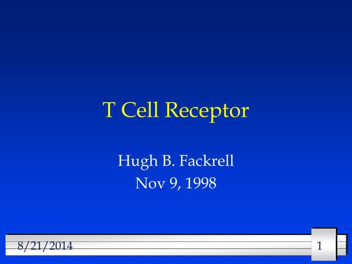 t cell receptor n.