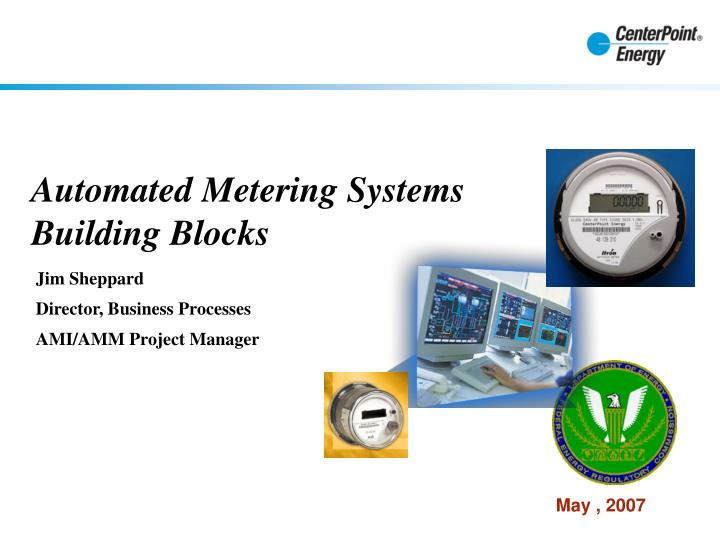 automated metering systems building blocks