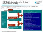 cnp distribution automation strategy electric delivery roadmap