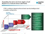 expanding the meter role from simply a cash register to a network sensor and portal