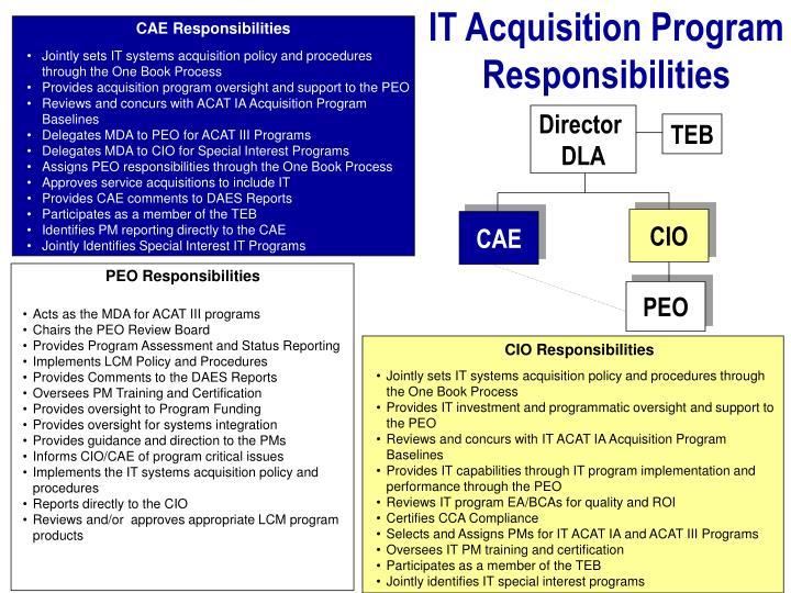 IT Acquisition Program