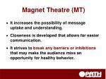 magnet theatre mt1