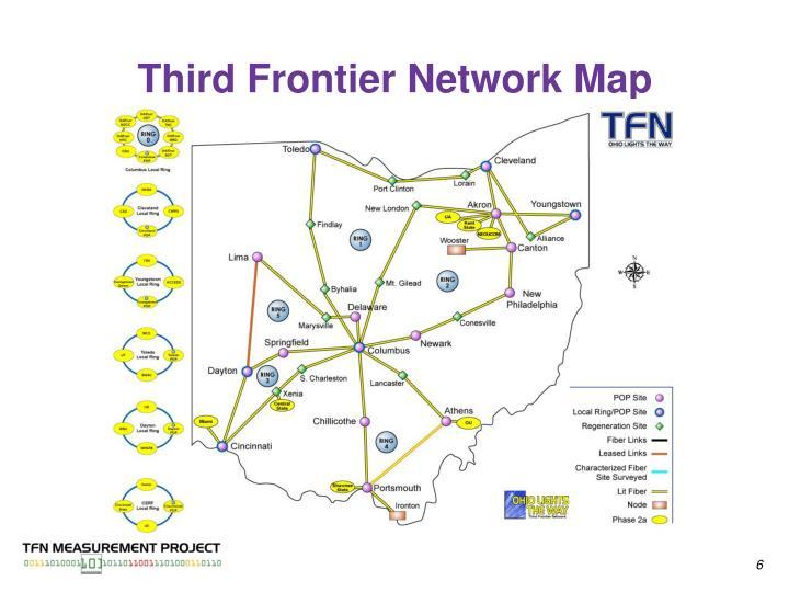 Third Frontier Network Map