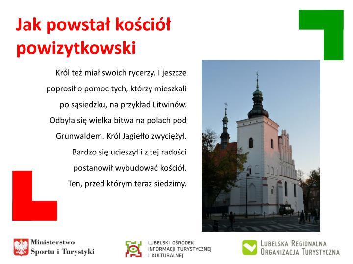 Jak powstał kościół powizytkowski
