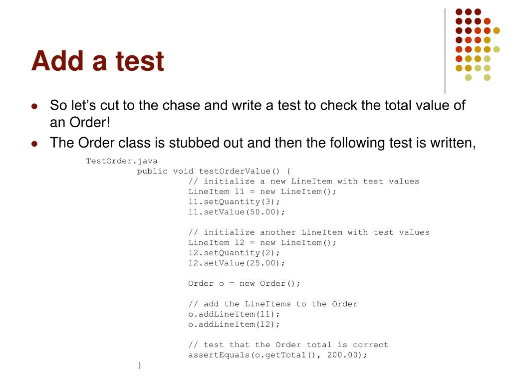 PPT - Test-Driven Service Development Developing robust web
