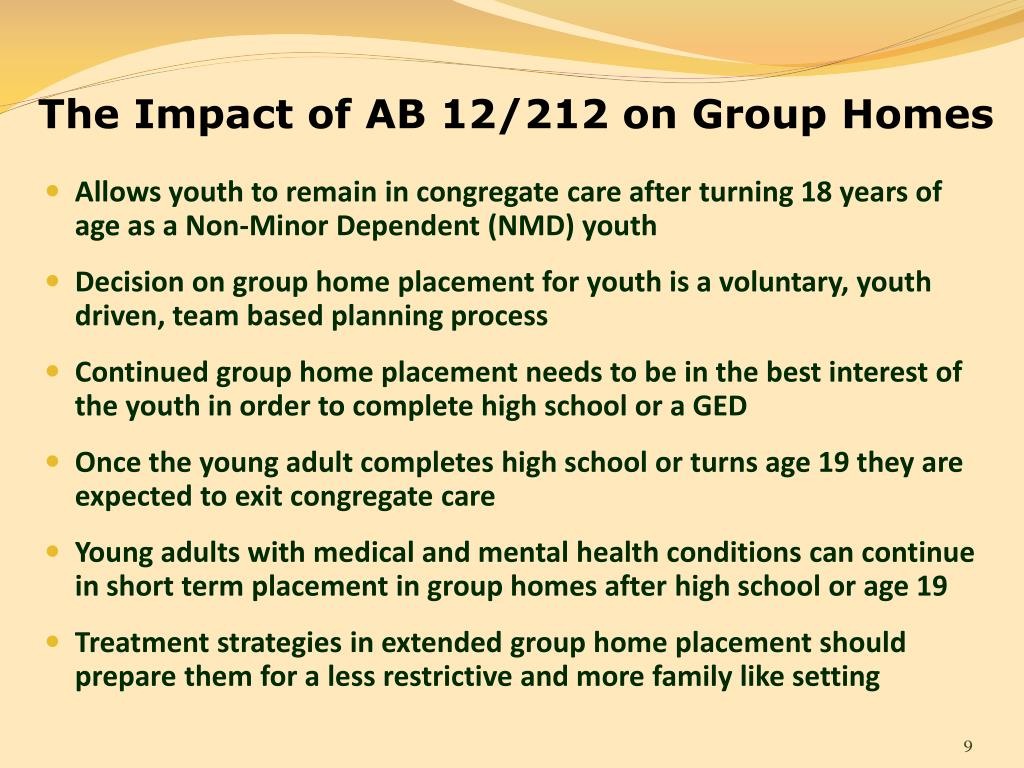 Ppt Young Adults Transitioning From Group Care To Self