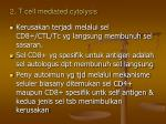 2 t cell mediated cytolysis
