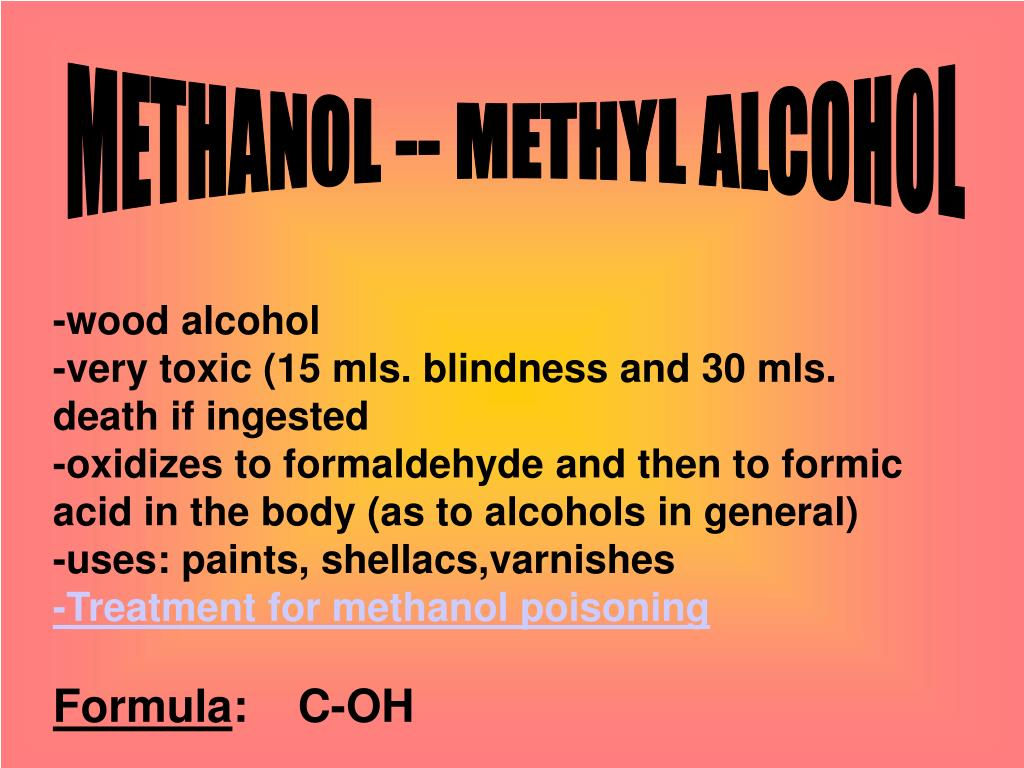 PPT - FOCUS ON ALCOHOLS -OH functional group -nomenclature