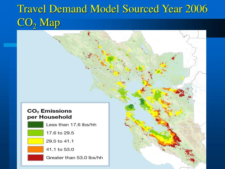 Travel Demand Model Sourced Year 2006 CO