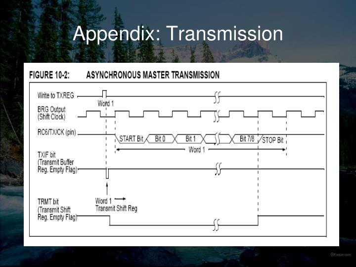 Appendix: Transmission