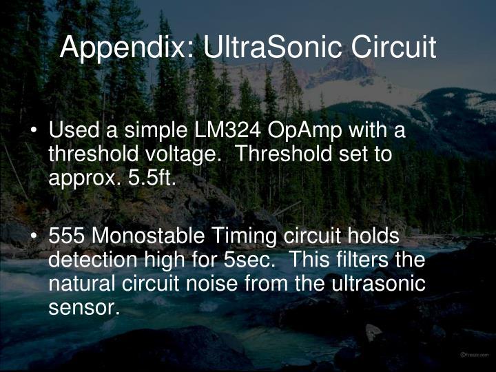 Appendix: UltraSonic Circuit