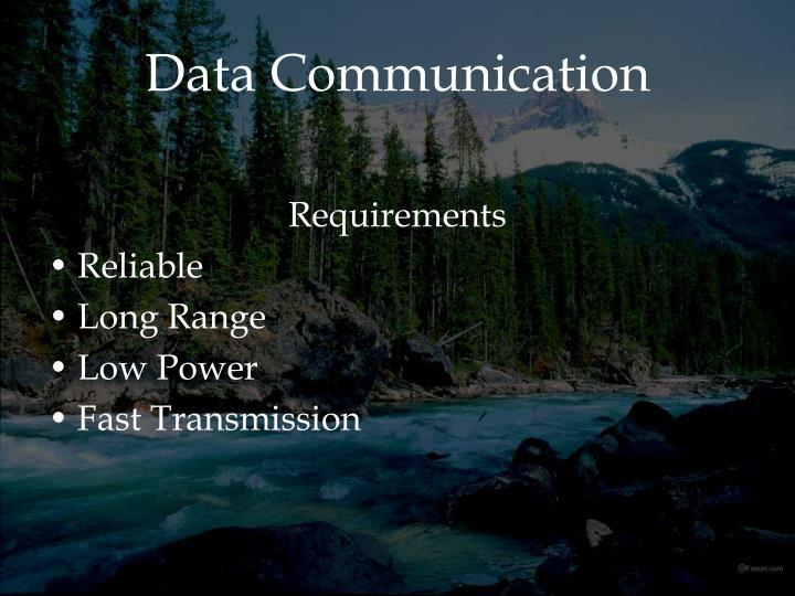 Data Communication