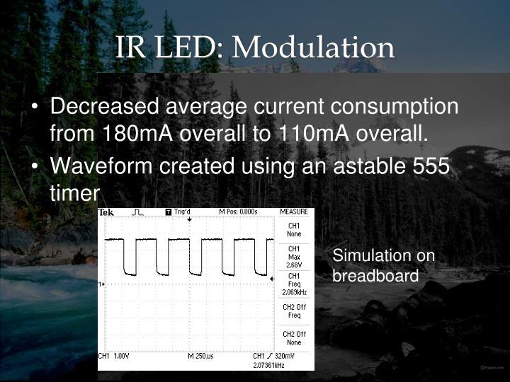 IR LED: Modulation