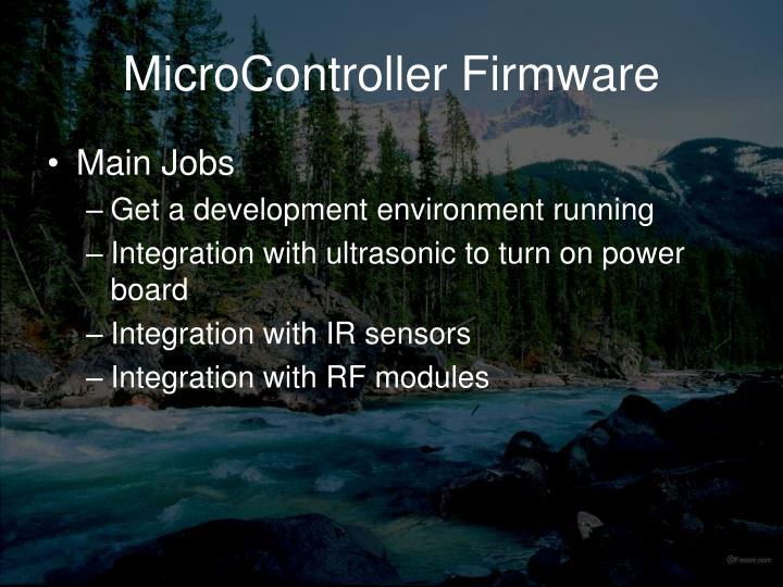 MicroController Firmware