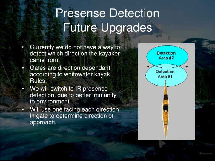 Presense Detection