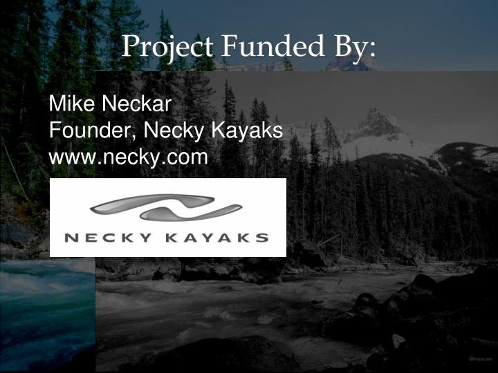 Project funded by