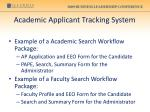 academic applicant tracking system22