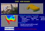 cwp asr issues