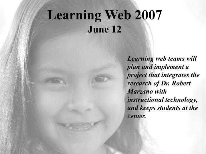 learning web 2007 june 12 n.